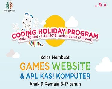 Coding Holiday Program