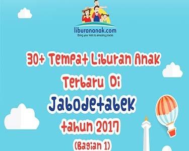 Tempat Liburan Anak 2017 Jabodetabek (Bagian 1)