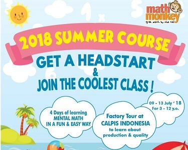 Summer Course 2018 with Math Monkey