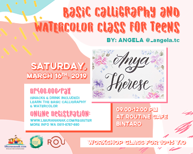 Basic Calligraphy Class for Teens