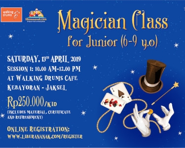 Magicians Class for Junior (6-9 yo)