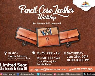 Pencil Case Leather Workshop