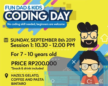Fun Dad & Kids - Coding Day 8 Sept 2019