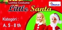 Lomba Costume Little Santa