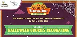 Halloween Cookies Decorating with honeydo.id