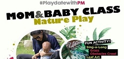 Mom & Baby Class Nature Play