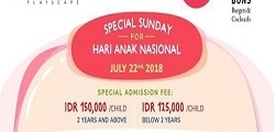 Special Sunday For Hari Anak Nasional with PIBO