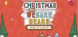 Christmas With We Bare Bears at Mall Taman Anggrek