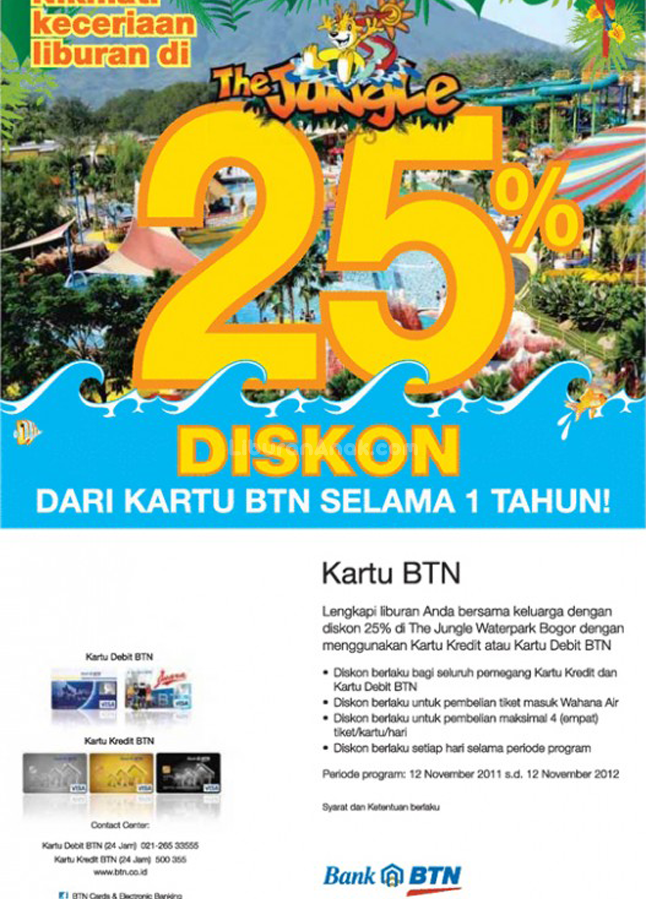 Promo Diskon The Jungle Discounts Promotions Liburan Anak Informasi Event Liburan Keluarga