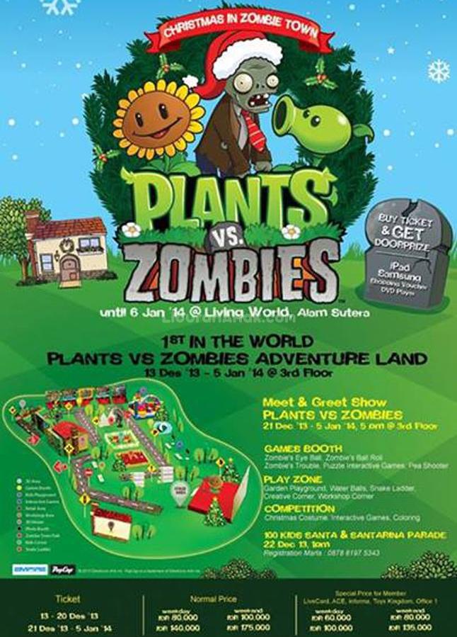 land vs zombie