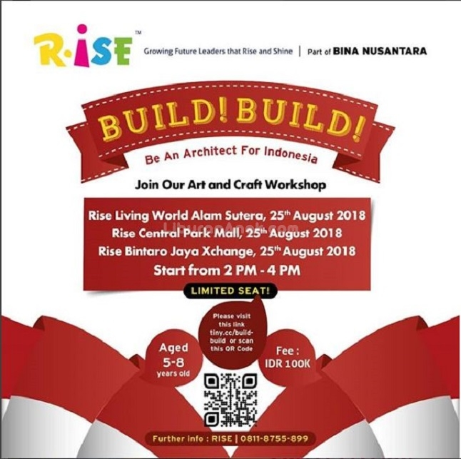 Art And Craft Workshop With Rise Indonesia