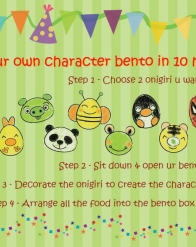 Make your own Bento character in 10 minutes with My Mealbox !