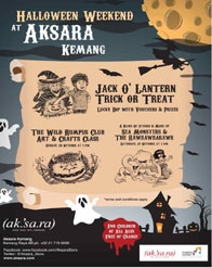 Jack O'Lantern Trick or Treat, Halloween Weekend @ Aksara Kemang