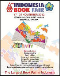 "Indonesia Book Fair 2012 ""The Power of Creativity"""