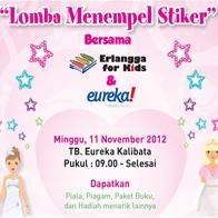 Eureka Lomba Menempel Sticker