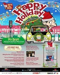 Happy Holiday with Mr. Bean at Cibubur Junction
