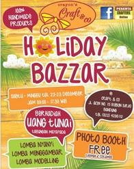 Crayon's Craft & Co Holiday Bazaar #Bandung