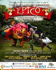 "Epico ""The Last Living Dragon"""