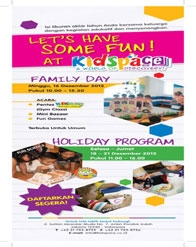 Kids Space #HolidayProgram