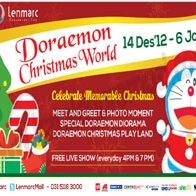 Doraemon Christmas World #SURABAYA