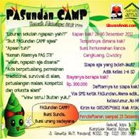 Pasundan Camp - Kemah Alamnya PAS ITB #Bandung #HolidayProgram