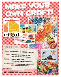 Make Your Own Craft #HolidayProgram at Rumah Main Cikal