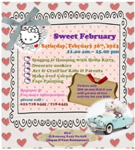 Sweet February with Hello Kitty