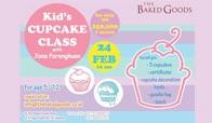 Kid's Cupcake Class with Jana Parengkuan