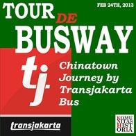 TOUR DE BUSWAY: Chinatown Journey by Transjakarta