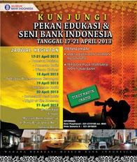 Pekan Edukasi dan Seni Bank Indonesia