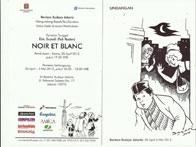 """Pameran Tunggal Pak Raden """"Noir at Blanc"""""""