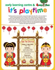 "It's Playtime ""Go To China"""