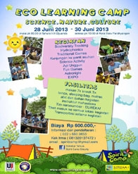 Eco Learning Camp Bandung Holiday Program