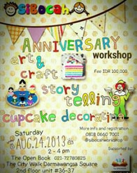 SiBocah Anniversary Workshop