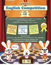 Miniapolis English Competition