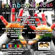 Rainbowlicious Artscience Workshop