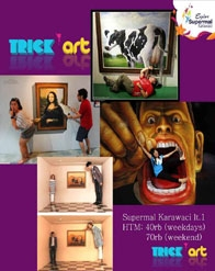 Trick Art Supermal Karawaci