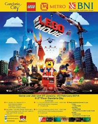 THE LEGO MOVIE Event