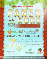 You are invited to PANEN HORE!