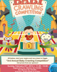 The 3rd Annual Baby Crawling Competition