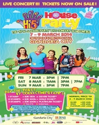 The First HI-5 House Party Live Concert in Indonesia
