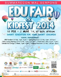 Edu Fair & Kidsfest 2014