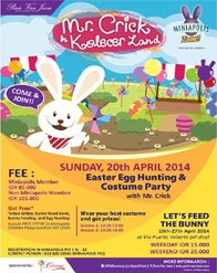 Easter Party di Mr Crick in Kolecer Land