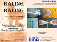 """Weekend Science """"Baling-Baling"""""""