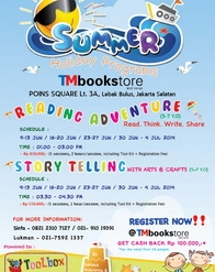 Summer Holiday Programs - TMbookstore