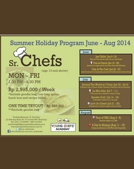 Young Chefs Academy - Summer Holiday Program