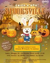 Miniapolis Bandung - Crick a Boo at Spooksville