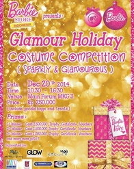 Barbie - Glamour Holiday Costume Competition