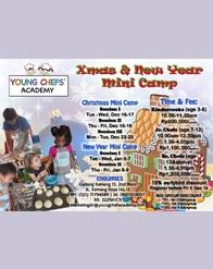 #HolidayProgram YCA - Xmas & New Year Mini Camp