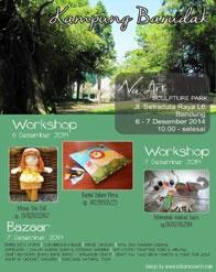 Kampung Barudak: Bazaar & Workshops